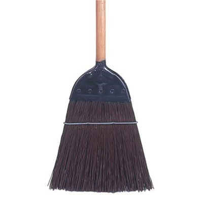 TOUGH GUY 30E836 Upright Broom, Metal Cap,45 In. L