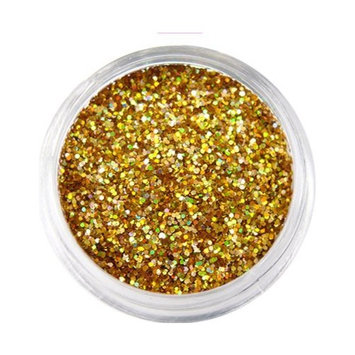 Moyou Nail Art Tiny Hexagon Glitters - Gold(AGP-11502)