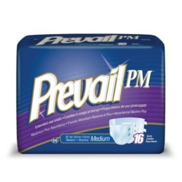 Prevail NTB-014 Extended Wear Night Time Brief - Extra Large - 60/Case