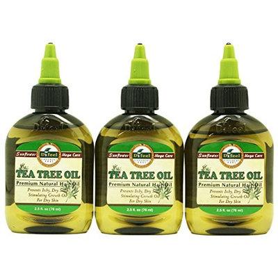 DIFEEL PREMIUM NATURAL HAIR CARE OIL-TEA TREE OIL 3PC by Difeel