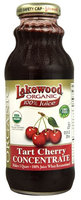 Lakewood Organic 100% Juice Concentrate Tart Cherry - 12.5 fl oz pack of 3