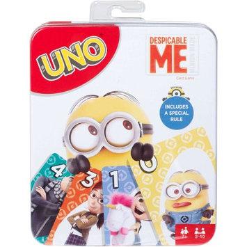 Mattel uno despicable me card game tin