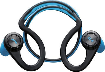 Plantronics - Backbeat Fit Special Edition Wireless Behind-the-neck Headphones - Black/blue