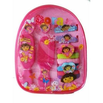 Nick Jr. Dora The Explorer Hair Accessory Gift Pack - Dora Ahir Band / Hair Clips