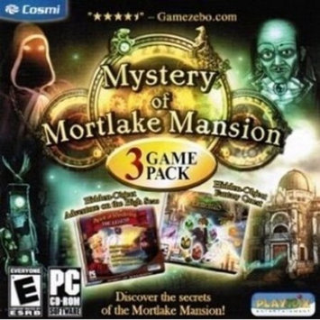 Cosmi Corp. Cosmi CDRS176 Mystery of Mortlake Mansion 3 Game Pack - PC