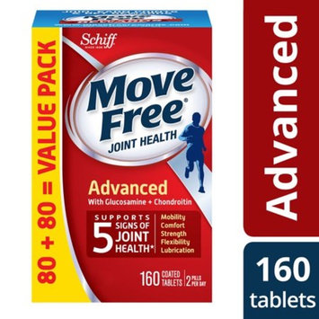 Move Free Advanced Value Pack - 160 Tablets - Joint Health Supplement with Glucosamine and Chondroitin