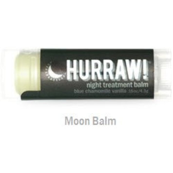 HURRAW! Moon (2 Pack) Lip Balm: Night Treatment, Organic, Certified Vegan, Certified Cruelty Free, Non-GMO, Gluten Free, All Natural – Luxury Lip Balm Made...