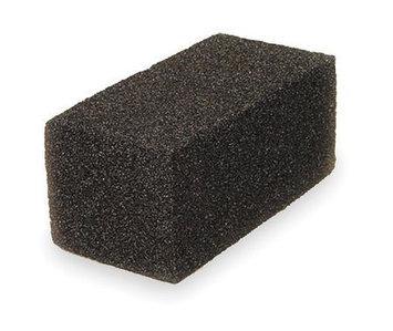 TOUGH GUY 2NTJ6 Grill Brick, Black,8In L,4In W