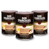 F. Gavi A & Sons, Inc. Don Francisco's Vanilla Nut, Medium Roast, Ground Coffee,12 oz. (Pack of 3)