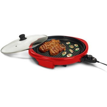 14-in L x 14-in W Non-Stick Contact Grill - Elite Model - EMG-980R - Set of 2 Gift Bundle