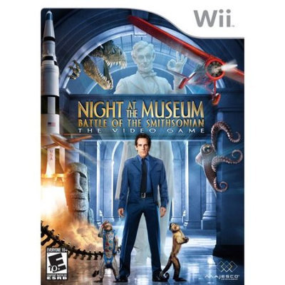 Night at the Museum: Battle of the Smithsonian Wii Game MAJESCO