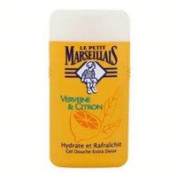 Le Petit Marseillais 6 Bottles of Body Wash Your Choice, French Shower Cream 8 Varieties 250ml (8.4oz) (Verveine Citron (Verbena and Lemon))