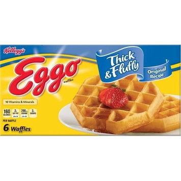 Eggo Thick and Fluffy Original Waffle, 11.6 Ounce -- 8 per case.