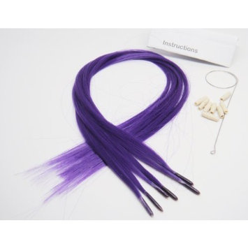 Beautiful Color Hair Extensions New Generation Purple