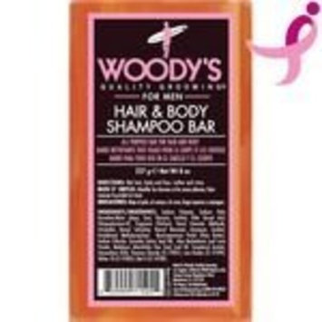 Woody's Meat & Potatoes Hair & Body Shampoo Bar, 8 oz