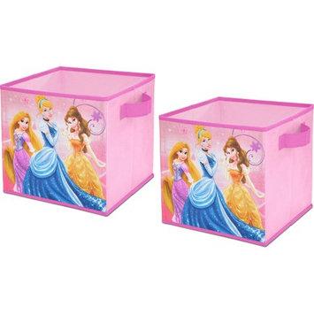 Idea Nuova Disney Princess 2-Pack Storage Cube