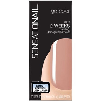 Pacific World Corporation SensatioNail Gel Color Nail Polish, Vanilla Chai, 0.25 fl oz