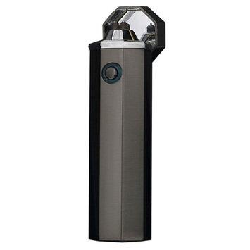 Dibikou Cigarette Lighter Electronic Dual Arc USB Rechargeable Plasma Beam Lighter(Black,1 Pack)