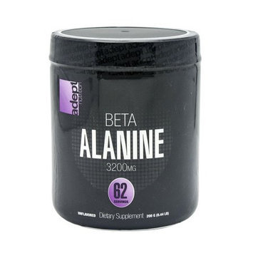 Adept Nutrition Beta Alanine Unflavored - 62 Servings