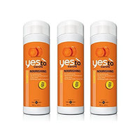 Yes To Carrots Nourishing Shampoo, 16.9 Oz (3 Pack) + FREE Old Spice Deadlock Spiking Glue, Travel Size, .84 Oz