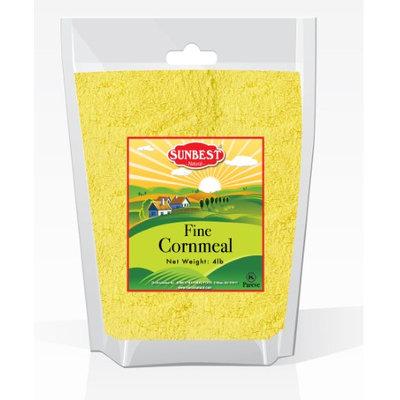 SUNBEST Corn Meal Flour, Fine Grind, Naturally Gluten Free (Fine, 4 Lb)