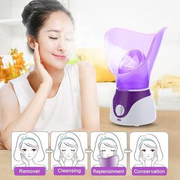 Bromose Face Steamer Warm Mist Moisturizing Facial Steamer Hot Mist Humidifier Hot Mist Clear Home SPA Skin Care for Pores Acne Blackheads Interior Nano Sprayer Face Humidifier