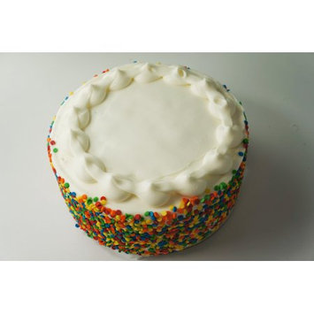 Walmart 7; Double Layer Confetti Cake