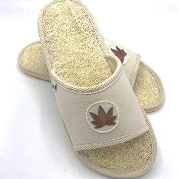Natural Loofah/ Loufa/Loofa/Luffa/loufah slipper/ shoes/ (M (7))