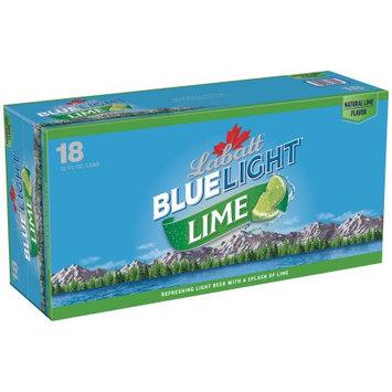 Labatt Blue Light Lime Lager 12-18 fl. oz. Cans