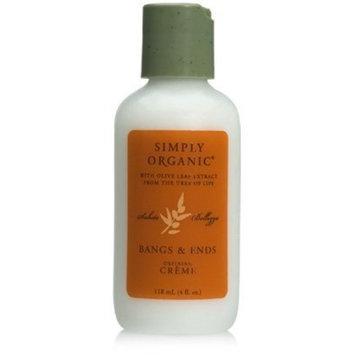 Simply Organic Bangs & Ends Creme, 4 oz