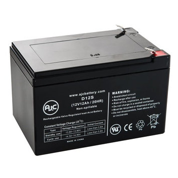 Buzz Electric Scooter 12V 12Ah Scooter Battery - This is an AJC Brand® Replacement