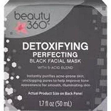 Beauty 360 Detoxifying Perfecting Black Facial Mask, 1.7 OZ