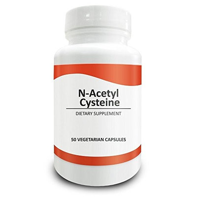 Pure Science N-Acetyl Cysteine 700mg – NAC Supplement with Highest Dosage in Amazon – Natural Immunity, Detox, Glutathione Production Support - 50 Vegetarian Capsules of N-Acetyl Cysteine powder