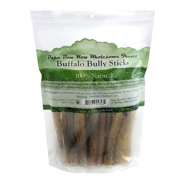 Cadet Papa Bow Wow Wholesome Treats Buffalo Bully Sticks 6