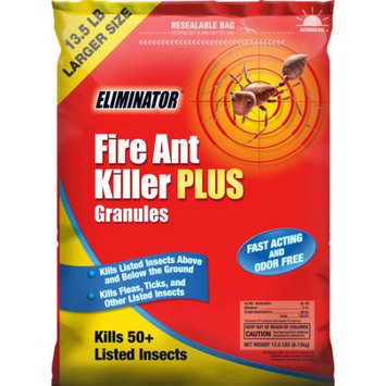 Central Garden And Pet Eliminator Fire Ant Killer Yard Treatment Granules, 13.5 lbs