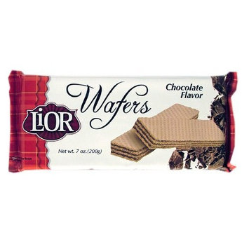 LiOR Chocolate Wafer, 7-Ounce Packages (Pack of 24)