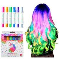 Girls Hair Chalk, Rainbow Hair Chalk, Unicorn Hair Chalk Pens