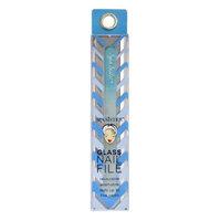 Spa Sister Glass Nail File & Case, Blue