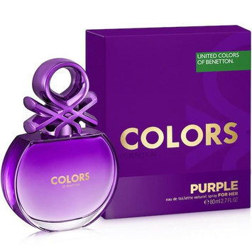 United Colours Of Benetton Perfume Colors Purple Feminino Benetton Eau De Toilette 80ml - Feminino