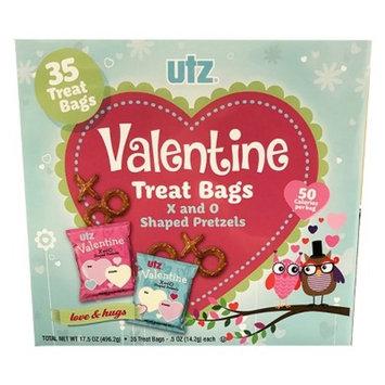 Utz Valentine Fun Shaped Pretzel Snacks - 40/.5oz