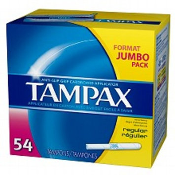 Tampax Tampons with Anti-Slip Grip Cardboard Applicator Super