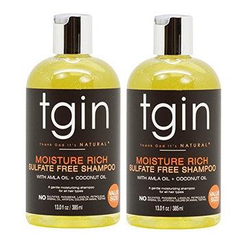 tgin Moisture Rich Sulfate Free Shampoo 13oz