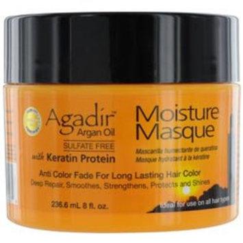 Agadir Argan Oil Moisture Masque for Unisex, 8 Ounce