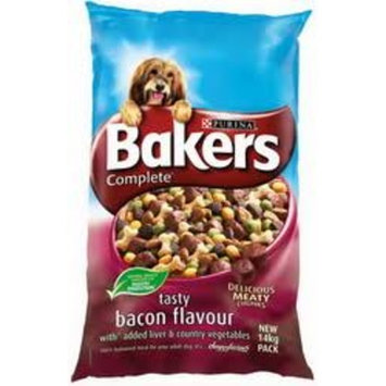 Bakers Complete Delicious Meaty Chunks with Tasty Bacon Flavour 14kg