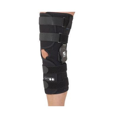 Ossur Form Fit ROM Wrap Long Open Popliteal Knee Brace Size: X-Small