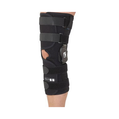 Ossur Form Fit ROM Sleeve Short Open Popliteal Knee Brace Size: Small