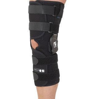 Ossur Form Fit ROM Sleeve Long Open Popliteal Knee Brace Size: Small