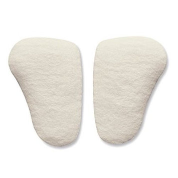 Longitudinal Metatarsal Arch Pads for Running - Hapad Metatarsal Pads, Large, 1/2'' Thick (Pack of 3 Pairs of Foot Support Pads)