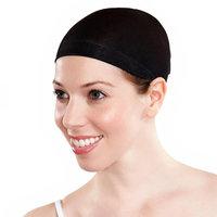 Wig Cap Halloween Accessory, Black