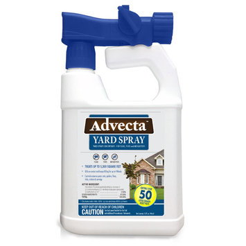 Advecta Flea, Tick, and Mosquito Yard Treatment - Yard Spray for Fleas, Ticks and Mosquitoes, 32oz